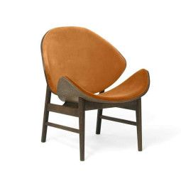 Warm Nordic The Orange fauteuil gestoffeerd