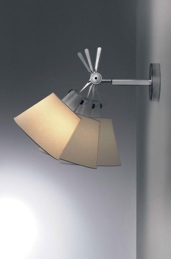 Artemide Tolomeo Parete diffuser wandlamp 32cm