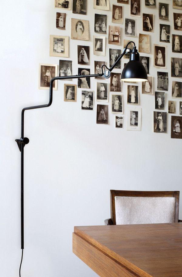 DCW éditions Lampe Gras N217 wandlamp