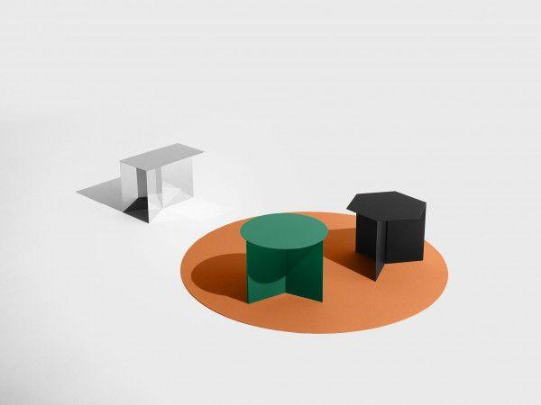 Hay Slit Table Round bijzettafel 45
