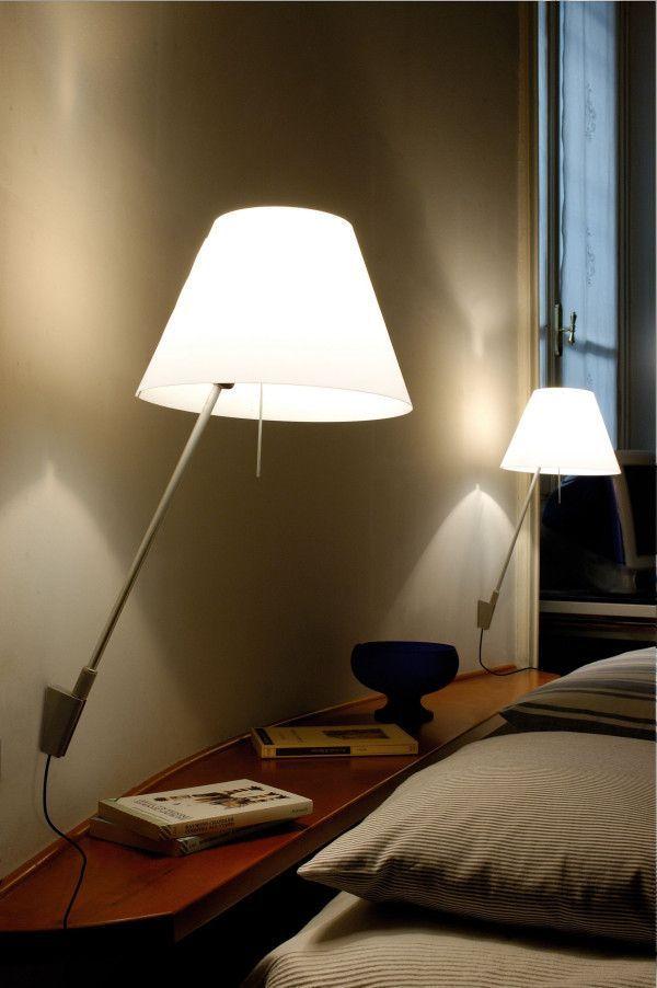 Luceplan Costanzina wandlamp aluminium