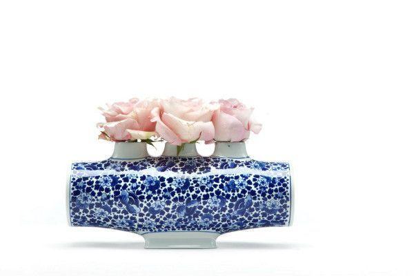 Moooi Delft blue NO. 4 vaas