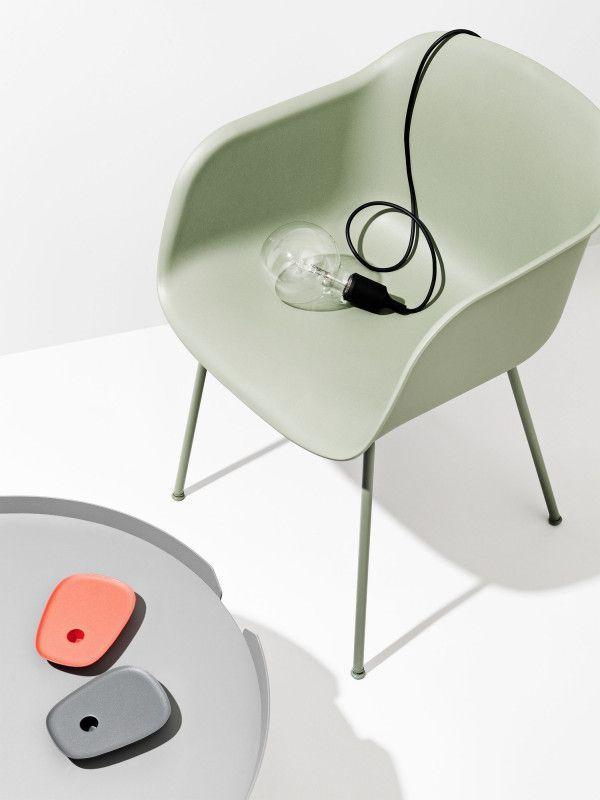 Muuto Fiber Tube stoel