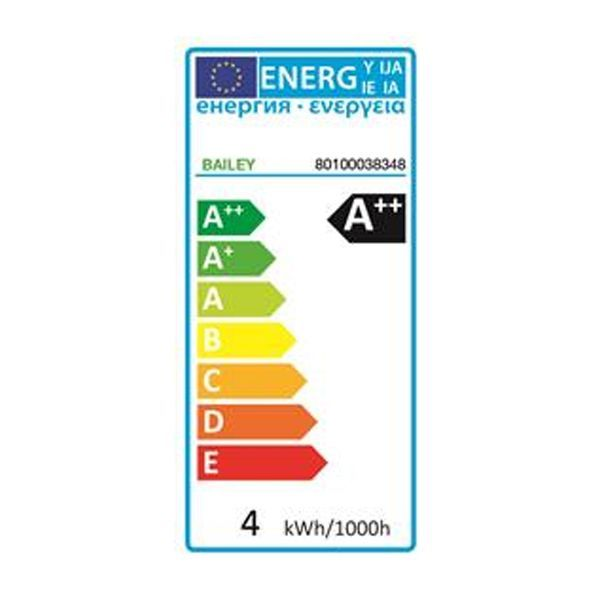 Flinders A60 LED lichtbron E27 8W helder dimbaar 2700K