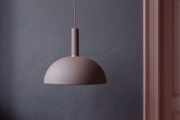 Ferm Living Hoop Red Brown hanglamp