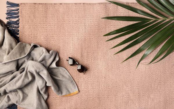 Ferm Living Sento Baby Hooded handdoek