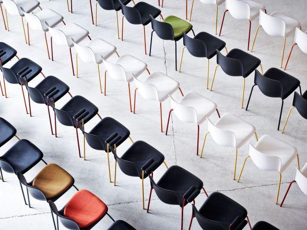 Howe SixE stapelbare stoel