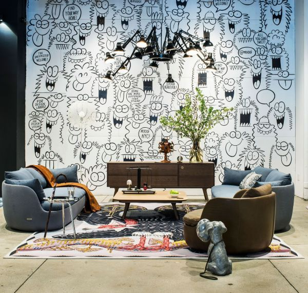 Moooi Carpets Vulture vloerkleed 300x400