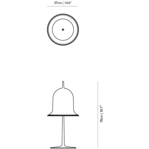 Moooi Lolita tafellamp