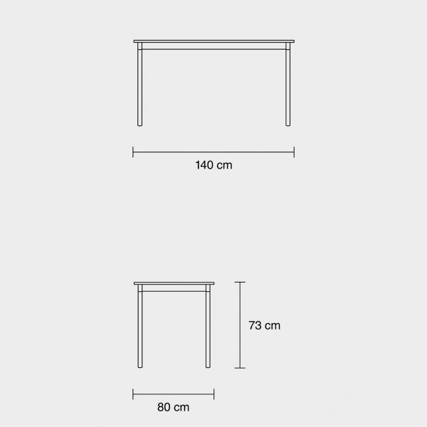 Muuto Base tafel 140x80