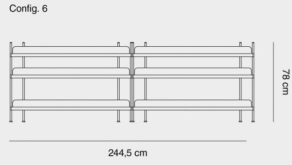 Muuto Compile 6 stellingkast