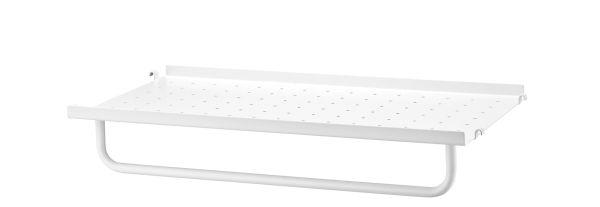 String Metal shelf low edge 58x30 1-pack