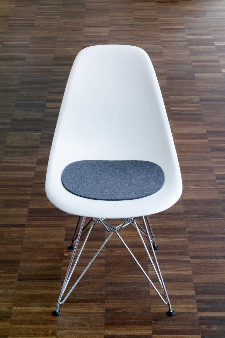 Hey-Sign Eames Plastic Sidechair zitkussen anti-slip