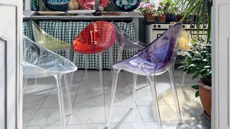 Kartell Mr. Impossible stoel
