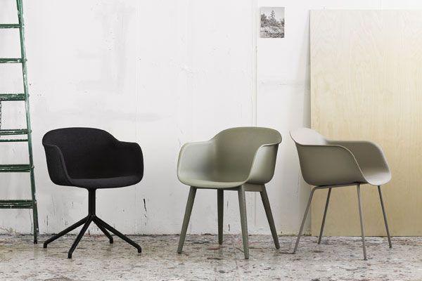 Nieuw van Muuto: Fiber Chair