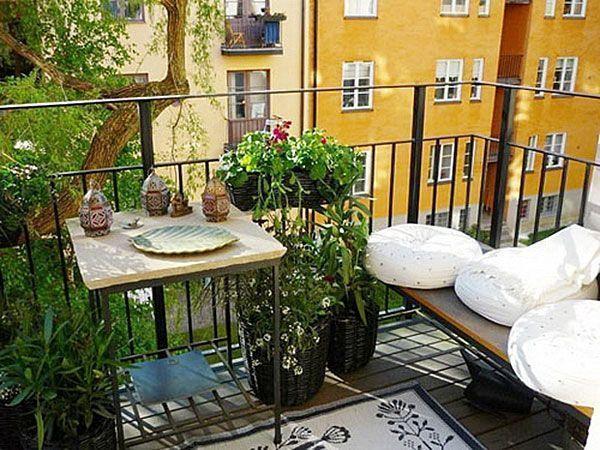 Tuininrichting: 4 manieren om een klein balkon optimaal te benutten ...